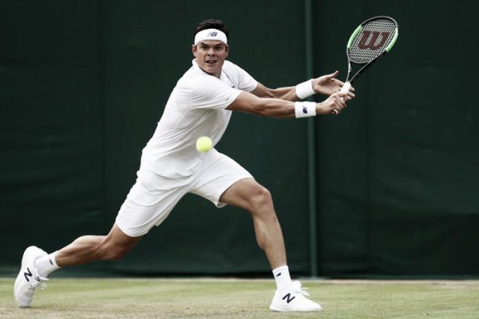 Wimbledon: Milos Raonic battles past Mikhail Youzhny