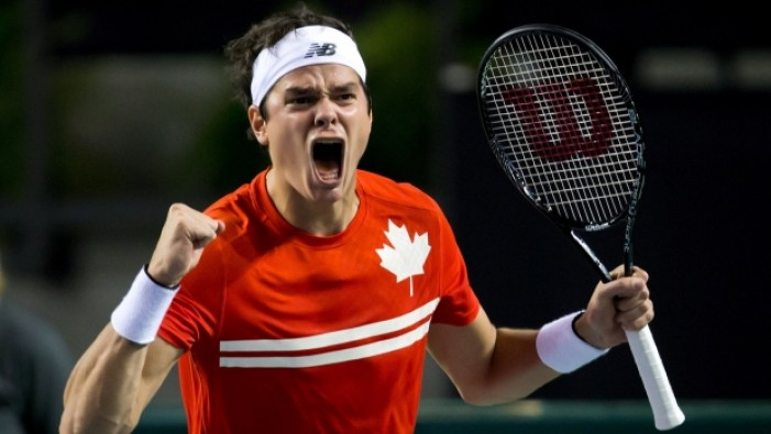 Milos Raonic Inducted Into Toronto Sports Hall Of Honour