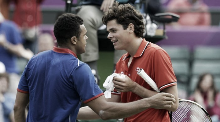 ATP Paris quarterfinal preview: Milos Raonic vs Jo-Wilfried Tsonga