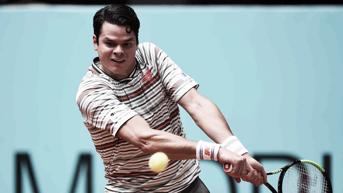 Raonic eliminó a Dimitrov a puro saque