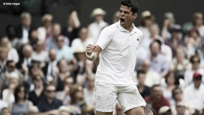 Milos Raonic, finalista de Wimbledon