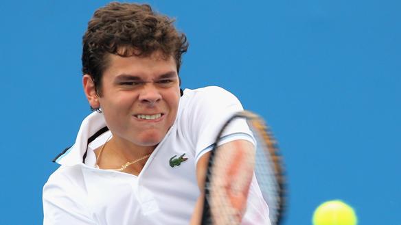 Roland Garros : Raonic passe en deux temps