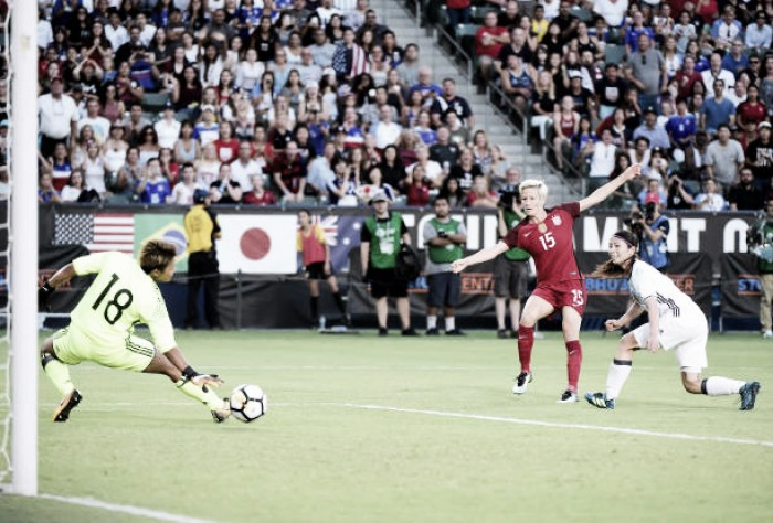 USWNT finishes Tournament of Nations with a 3-0 win over Japan