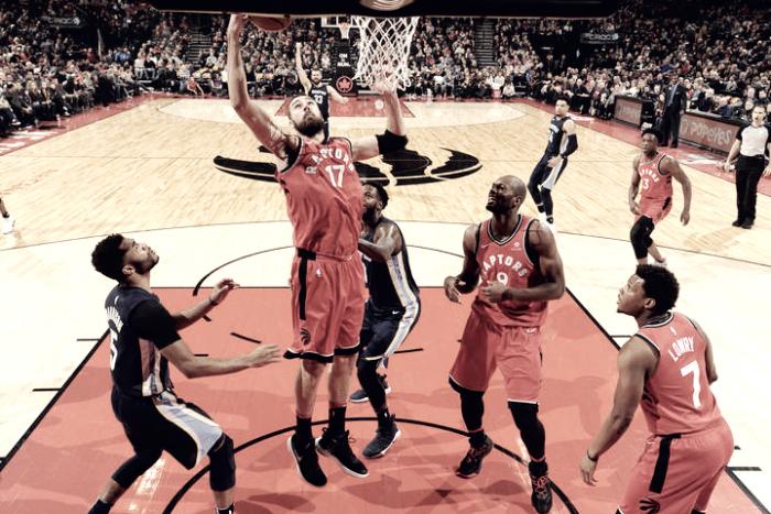 Quinto triunfo contiguo en casa para los Raptors