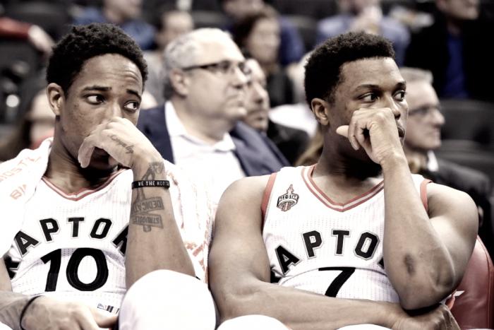 Toronto Raptorshave hit a low-pointin the season