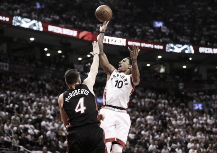Toronto Raptors take 3-2 lead with home victory against Miami Heat