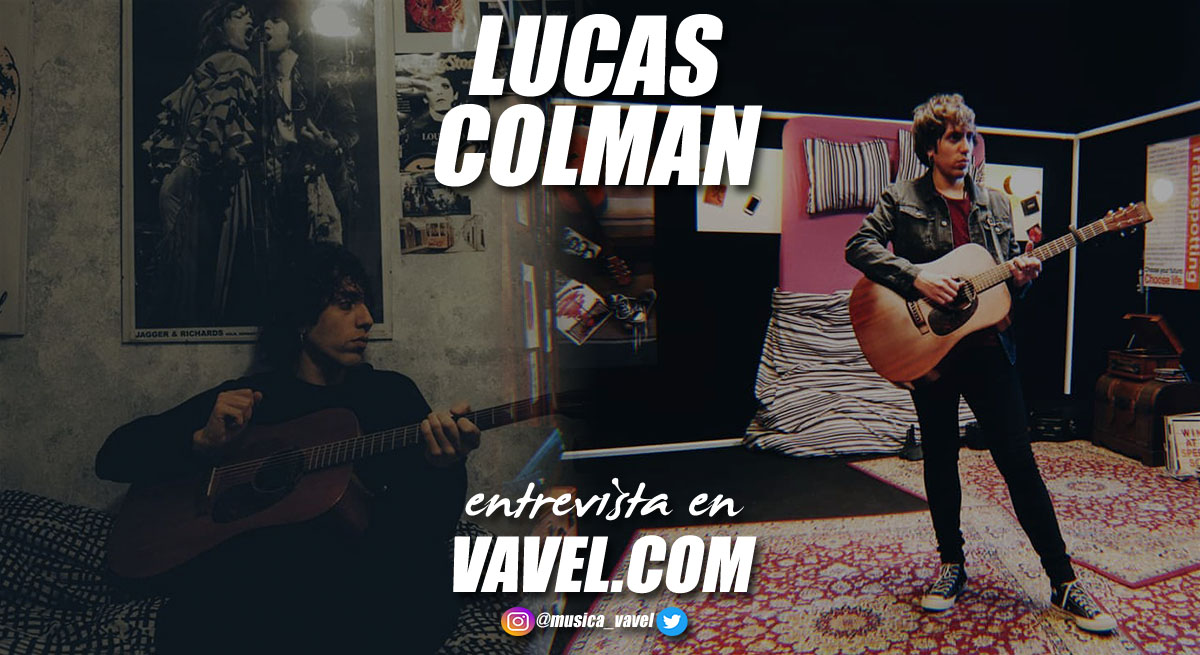 """Entrevista. Lucas Colman """" Soy un chico que hace canciones desde chaval, que acaba de sacar su segundo disco y que está disfrutando de la música todo lo que puede"""""""