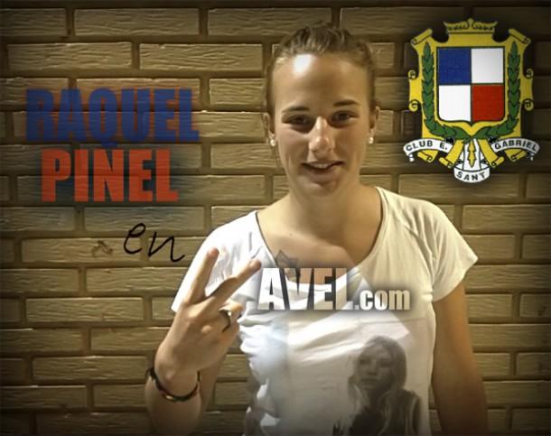 """Entrevista. Raquel Pinel: """"Va a ser un gran año para el Sant Gabriel"""""""