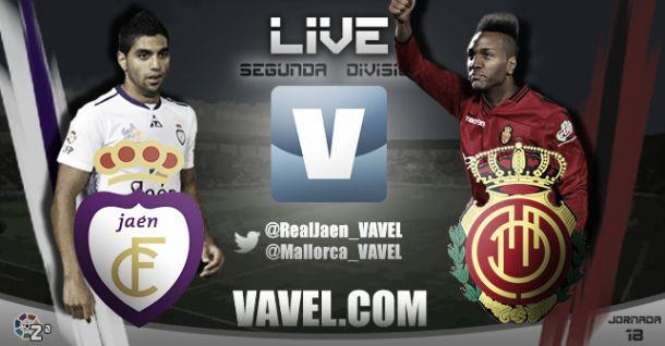 Resultado Real Jaén - Mallorca en Liga Adelante (2-1)