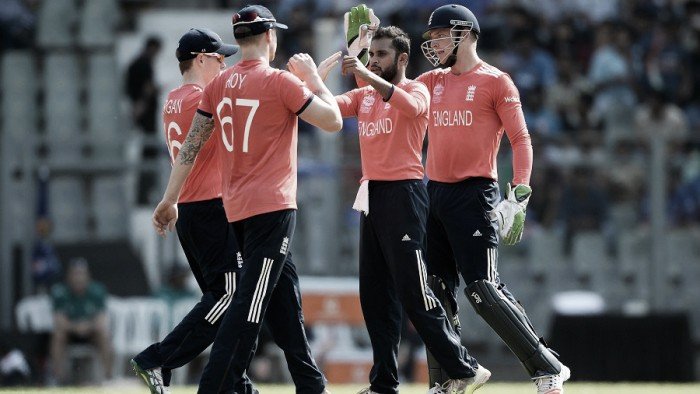 England beat New Zealand by six wickets in World T20 warm-up