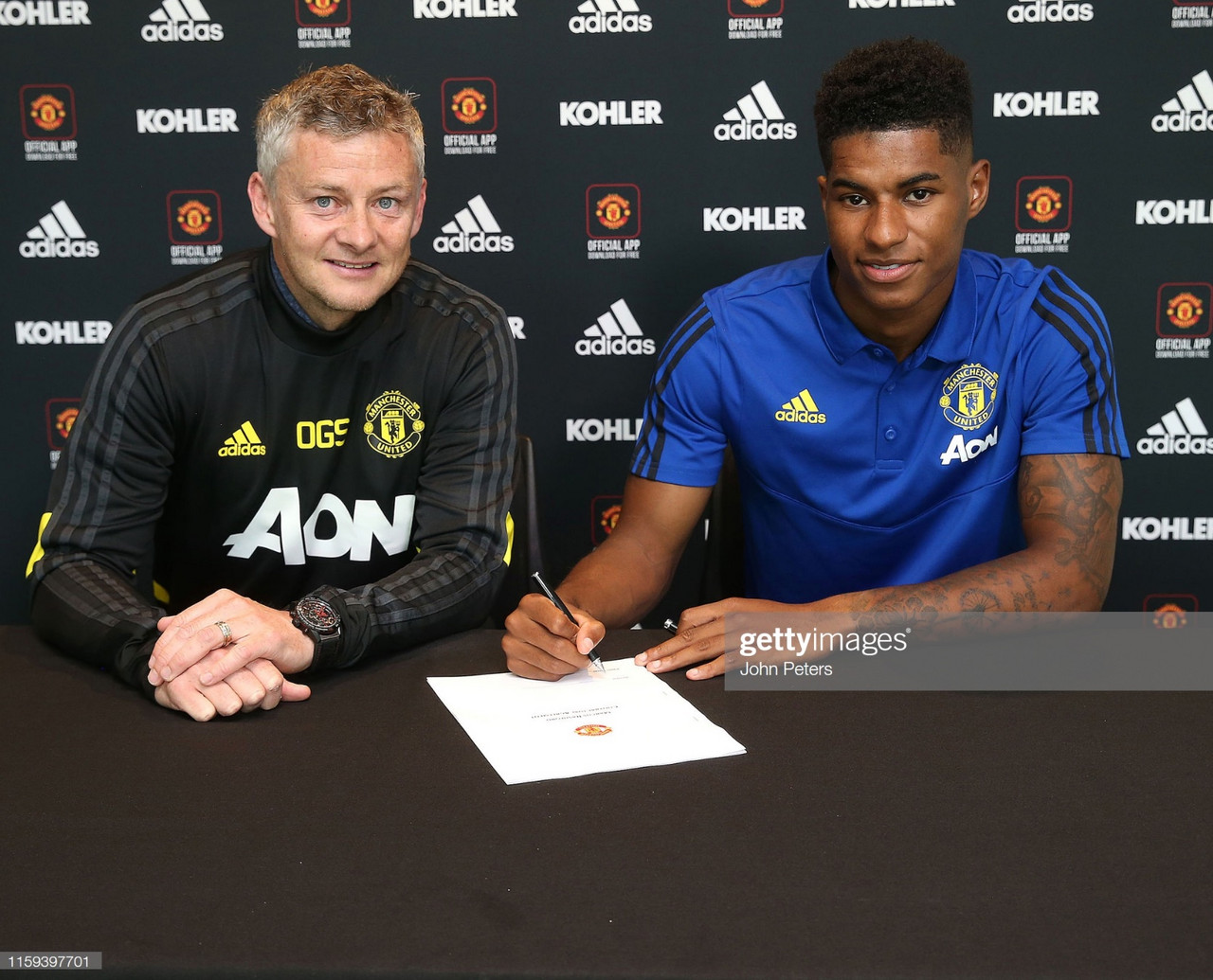 Analyzing Marcus Rashford's long term contract extension with Manchester United
