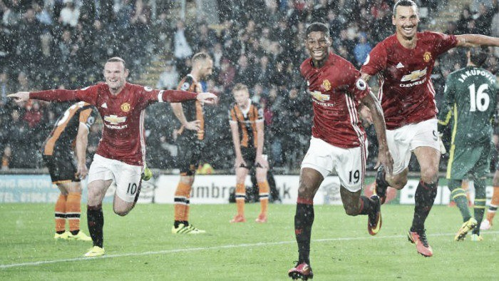 Hull City 0-1 Manchester United: Rashford breaks down resilient Tigers during injury time