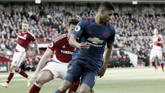 """Mourinho: """"Rashford tiene problemas para anotar gol"""""""