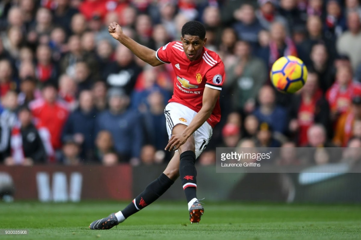 Manchester United 2-1 Liverpool: Rashford runs riot as Reds fall in race for second