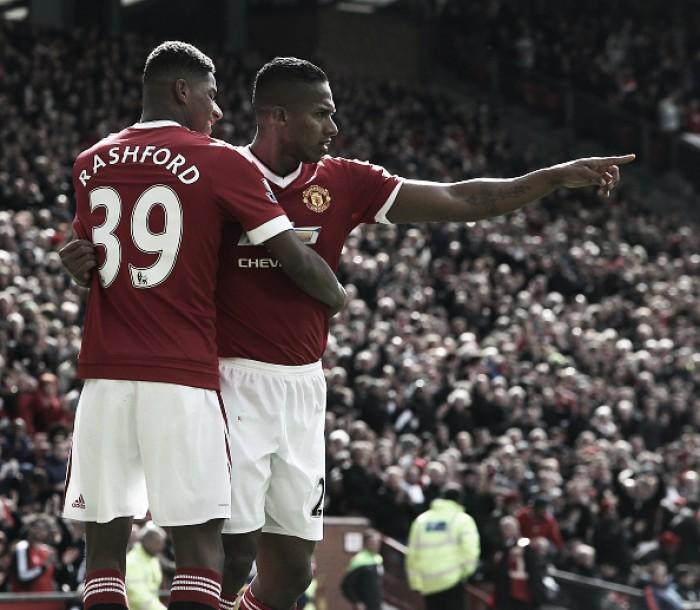 Manchester United 1-0 Aston Villa: Rashford sends Villans down