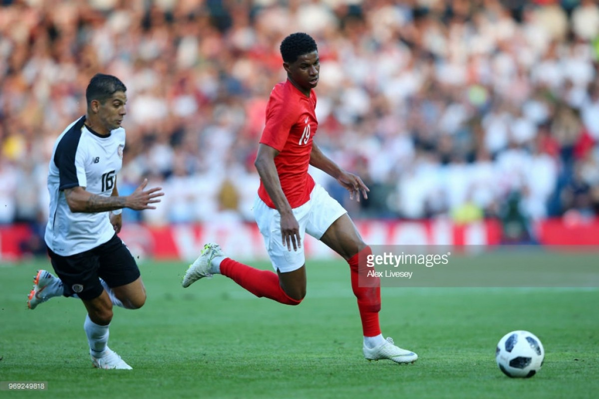 Rashford stars as England beat Costa Rica in warm-up