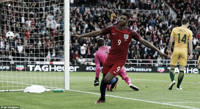 Rashford serious contender for Euro place, says Hodgson