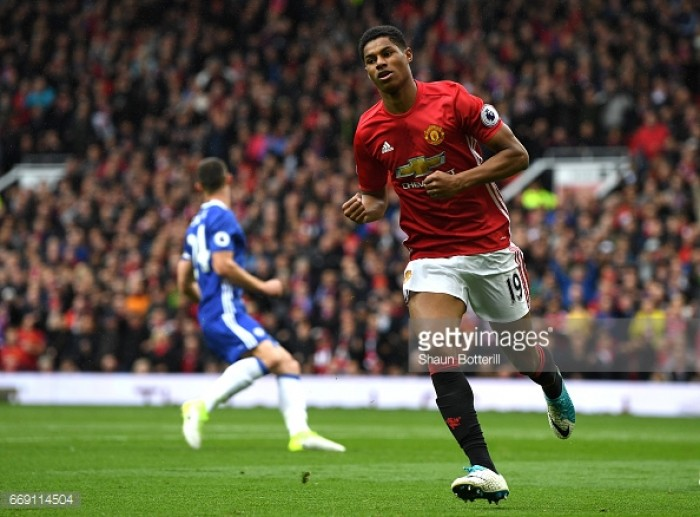"Park: Rashford has been ""impressive"" in dealing with high expectations"