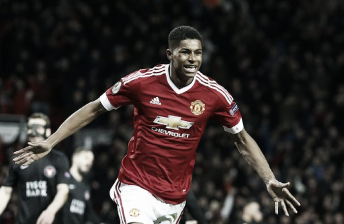Marcus Rashford to train with senior England side before Euro 2016