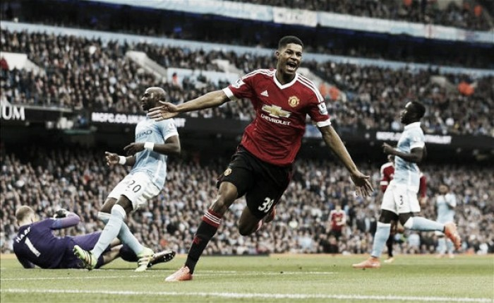 Manchester City 0-1 Manchester United: Rashford's early strike hands Reds top-four chance