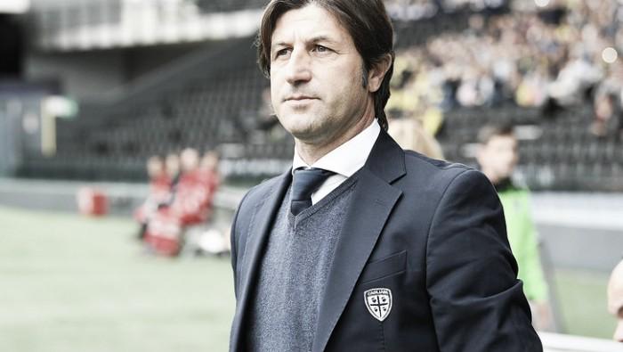 """Cagliari, senti Rastelli: """"L'obiettivo resta la salvezza, dobbiamo continuare a lavorare"""""""