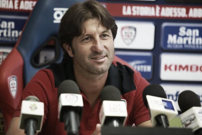 """Cagliari, Rastelli in conferenza: """"Daremo il massimo fino alla fine"""""""