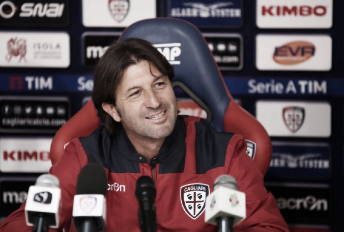 """Cagliari, Rastelli vuole punti in trasferta: """"Spal squadra compatta"""""""