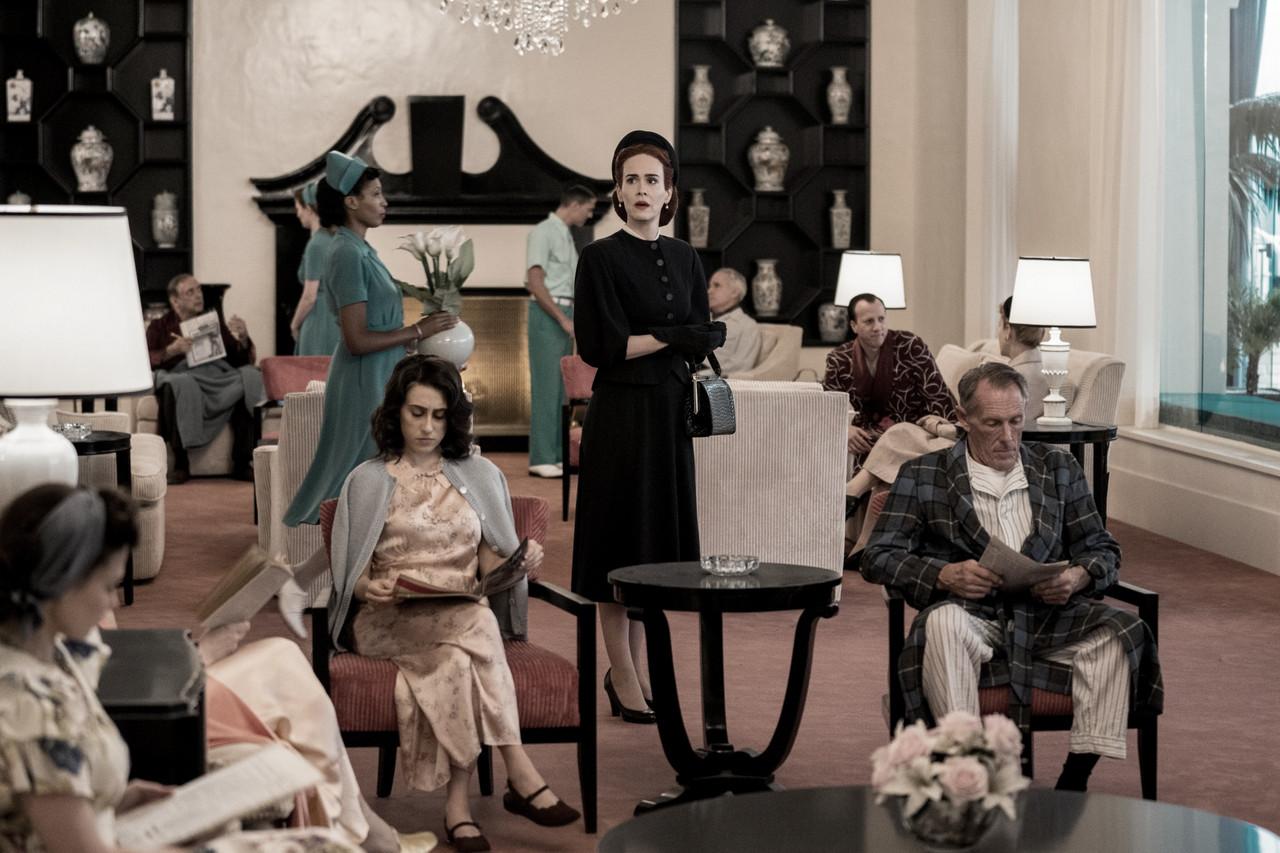 """""""Ratched"""", estreno de la semana y nueva serie de Sarah Paulson"""
