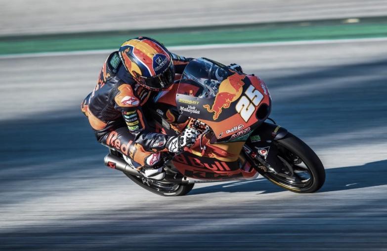 Raúl Fernández en el Gran Premio de Aragón / Foto: motogp.com