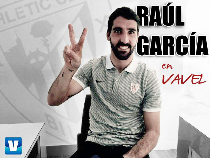 """Entrevista a Raúl García: """"Tenemos ganas de poder conseguir algún título"""""""