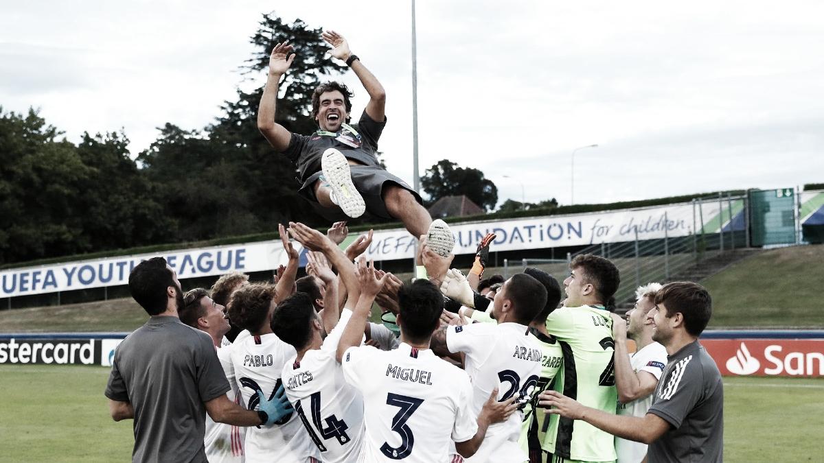 Raúl González: «Este título significa un premio para todo el mundo que ha trabajado en la cantera del Real Madrid»