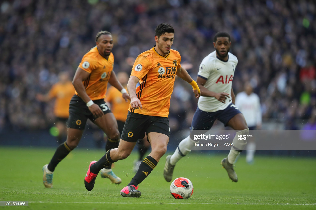 Tottenham prepared to change transfer plans for Wolves star striker Jimenez