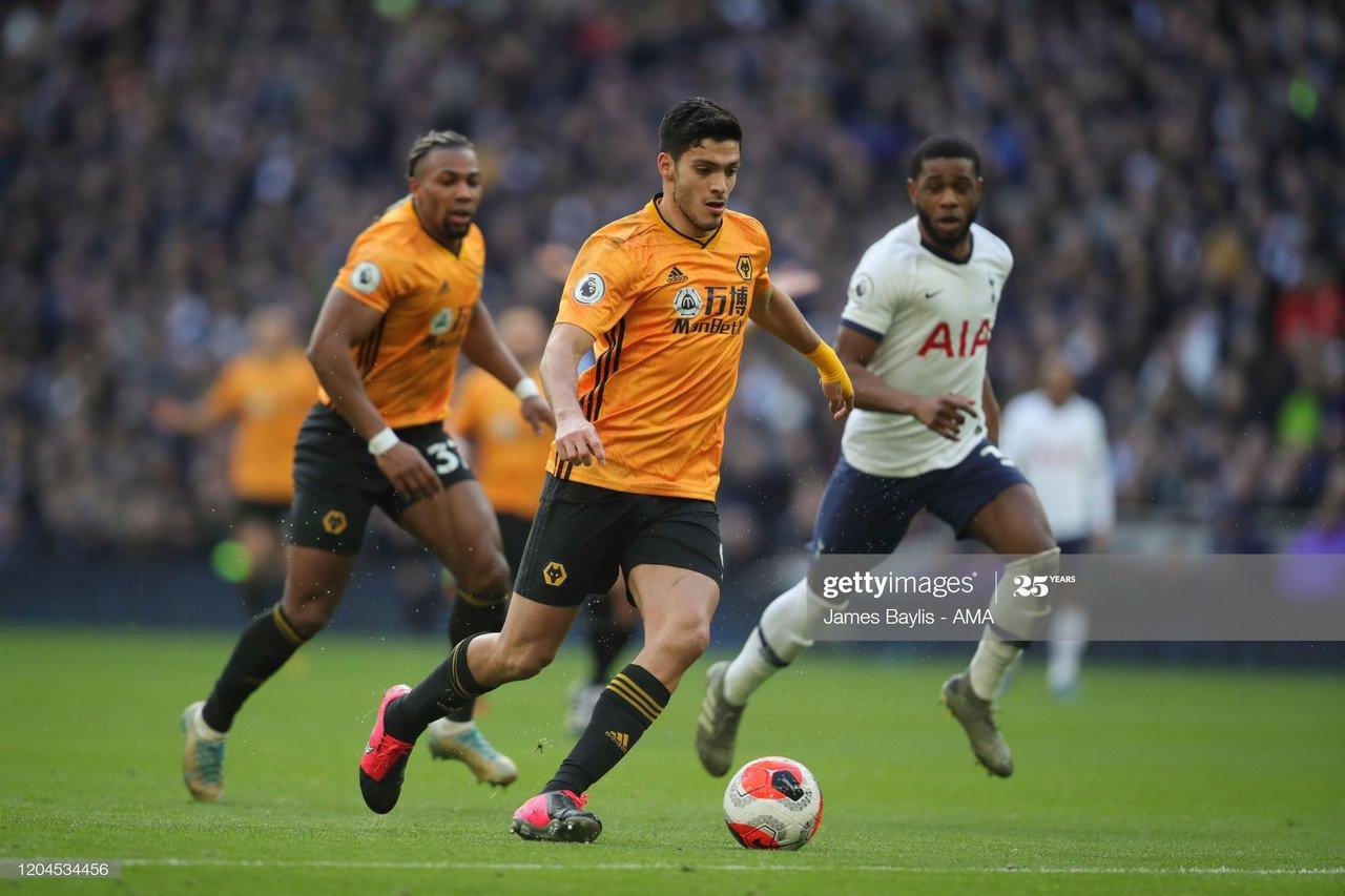 Tottenham prepared to change transfer plans for Wolves star striker Jimenez