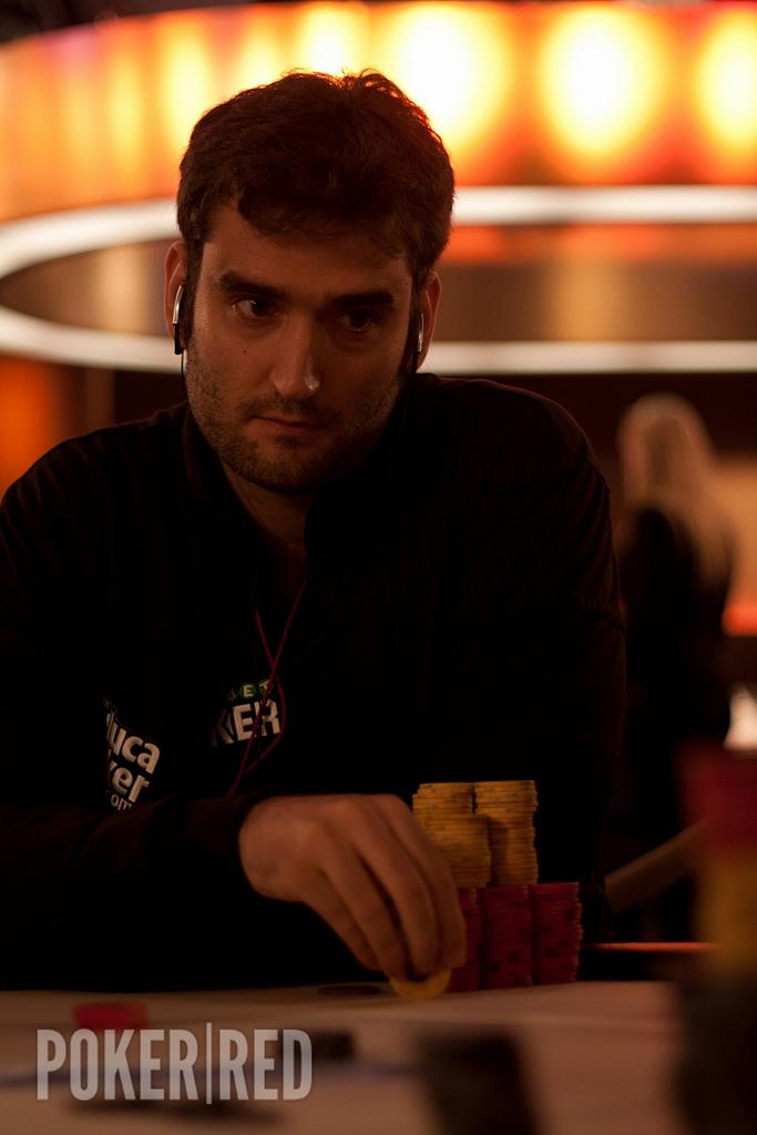 Raúl Mestre en la final