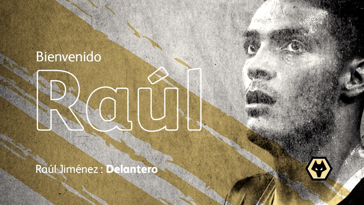 Dinamita para el Wolves: Raúl Jiménez para la delantera