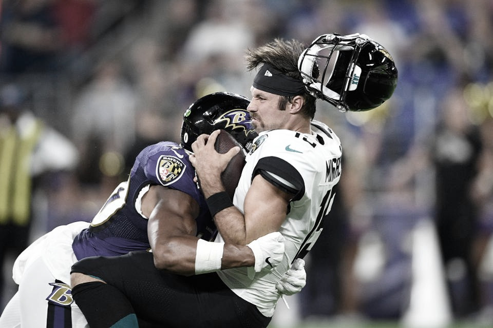 Ravens derrota y blanquea a los Jaguars