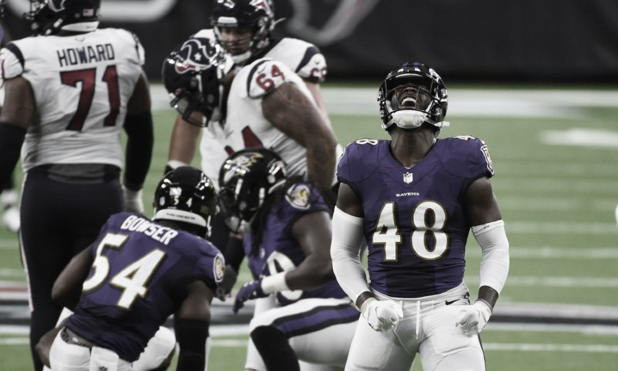 Ravens son líderes de la AFC Norte // Foto: Usa today