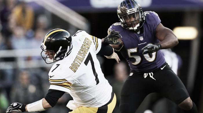 Steelers para na defesa e perde para Ravens no clássico da AFC North