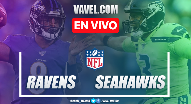 Baltimore Ravens vs Seattle Seahawks en vivo cómo ver transmisión TV online en NFL 2019 (0-0)