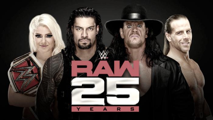 WWE ya piensa en el 25 aniversario de Raw