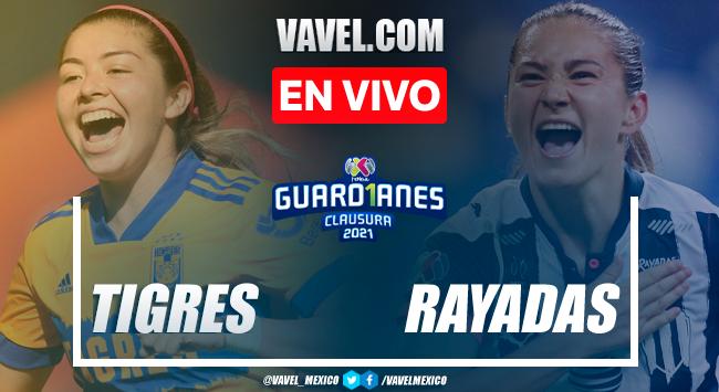 Goles y resumen del Tigres Femenil 4-1 Rayadas de Monterrey en Liguilla Liga MX Femenil 2021