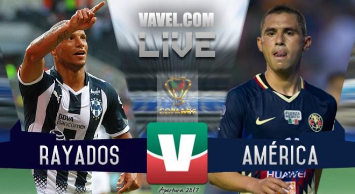 Monterrey vs América en vivo online en Semifinales Copa MX 2017 (0-0) Penales (3-0)