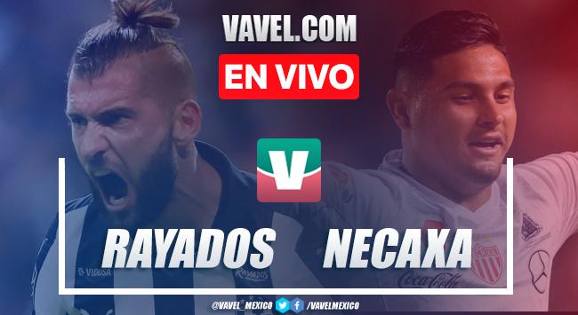Resumen y goles Rayados Monterrey 0-2 Necaxa en Liga MX Apertura 2019