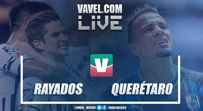 Resultado y goles del Rayados 1-0 Querétaro en Cuartos Copa MX 2018
