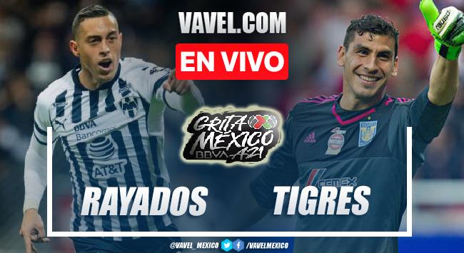 Goles y resumen del Rayados Monterrey 2-0 Tigres en Liga MX 2021