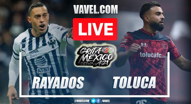Goals and Highlights: Monterrey 2-0 Toluca in Liga MX