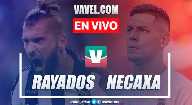 Resumen y video goles Necaxa 2-2 Rayados Monterrey en Liga MX 2020