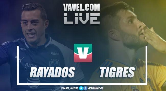 Resultado y goles Monterrey vs Tigres en Liga MX (1-0)