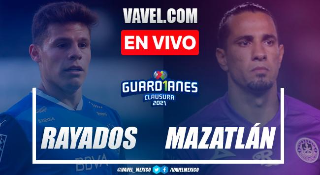 Gol y resumen: Monterrey 1-0 Mazatlán Liga MX Guardianes 2021