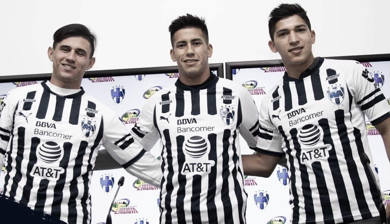 Presentó Monterrey a sus refuerzos